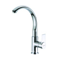 Quality brass kitchen mixer tap with swivel
