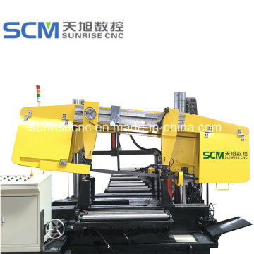 Beams and Tubes Band Saw Machine