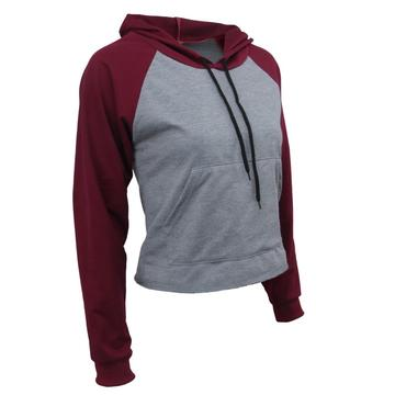High Quality Custom Women Long Sleeve Pullover Hoodies
