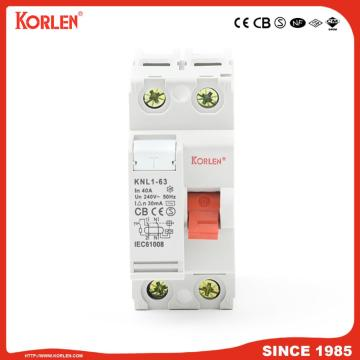 New Type Residual Current Circuit Breaker 3P+N 100mA