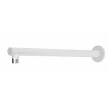 Round Paint White Brass Shower Arm/Tube