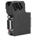 1pcs 6ES7 972-0BB41-0XA0 DP Plug Profibus Bus Connector Adapter Electronic Data Systems DP Data Plug Connector