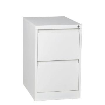 White 2 Drawer File Cabinet