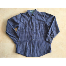 Cotton Yarn Dyed Plaid Shirt