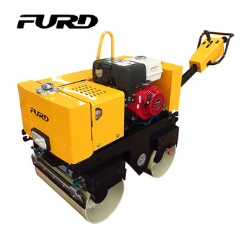 13hp gasoline 800kg double drum manual roller compactor (FYL-800)