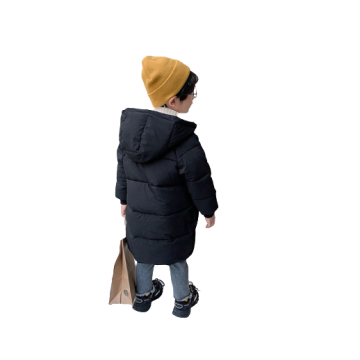 Boys Girls Unisex Winter Thicken Long-sleeved Coat