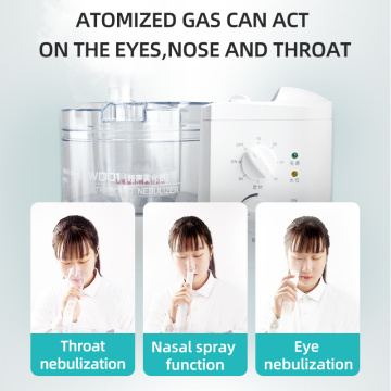 portable ultrasonic inhaler nebulizer parts for homecare