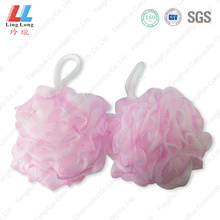 2-in-1 foaming sponge mesh ball