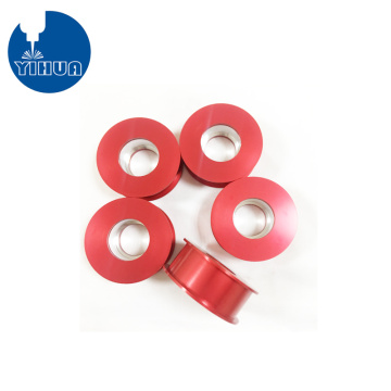 CNC Machined Precision Red Anodized Pulley