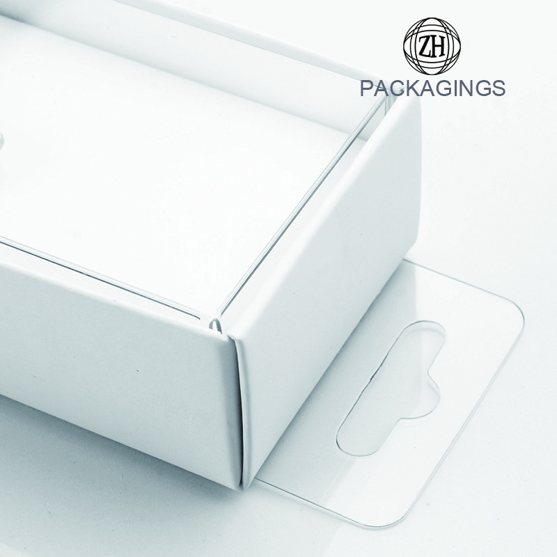 White paper packaging box for data cable
