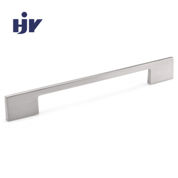 HJY best selling Zinc furniture pulls modern polished chrome handles