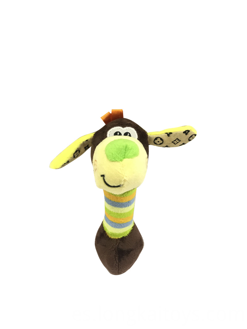 Plush Squeak Dog Toy