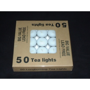 50 Long Burning Tealight Candle