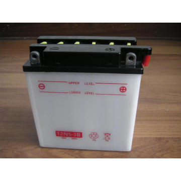 12N5-3B Dry Charged OEM Motorcycle Batteries 12V 5Ah