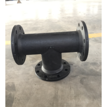 Ductile iron flanged tee