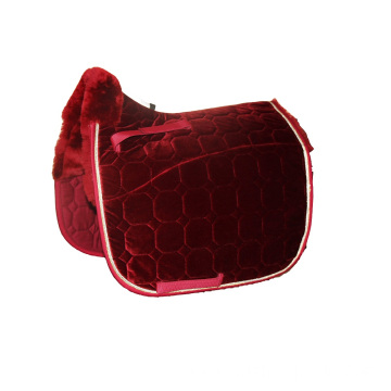 New velvet sheepskin saddle pad