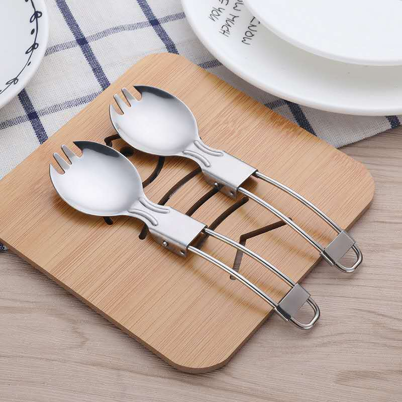 18/0 Field Stainless Steel Folding Spoon