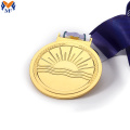 Custom running race gold medals custom own logo