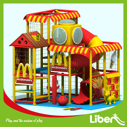 Themed indoor amusement playground