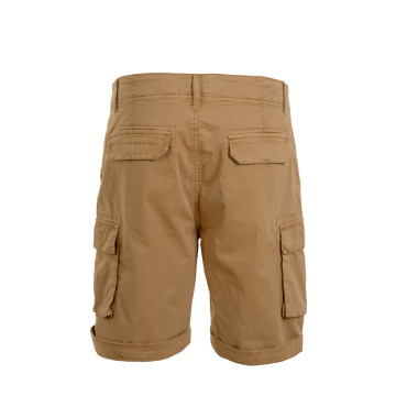Vintage Trendy Slim Fit Chino Shorts