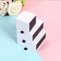 Magnetic jewelry box folding jewelry box