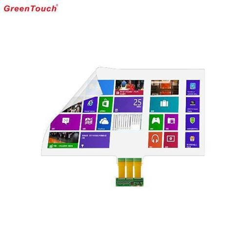 Projection Transparent Touch Screen Nano Foil 84""