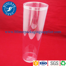 Clear Long PVC Plastic Cylinder Storage Box