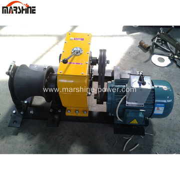 80KN Electric Engine Power Capstan Winch