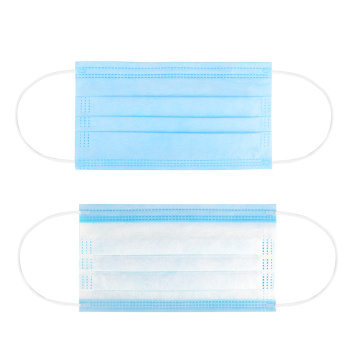 Custom 3 ply Disposable Fabric Face Mask