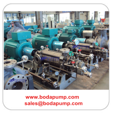 Horizontal Multistage Chemical Pump
