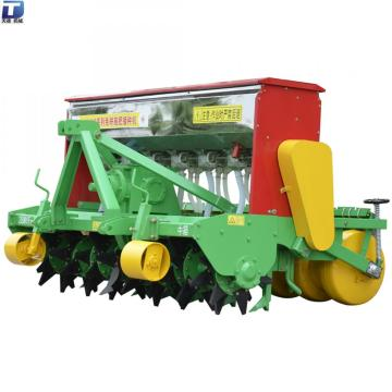 No Tillage Fertilizing Seeder