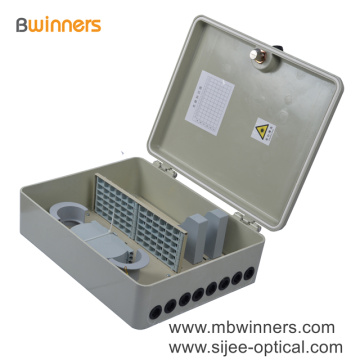 72 Cores FTTH Outdoor Wall Mount SMC Fiber Optic Termination Box