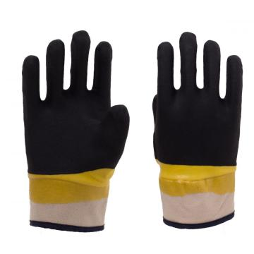 PVC Coated Gloves with safety cuff
