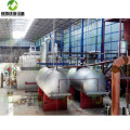 Waste Plastic Pyrolysis to Fuel Oil Process Plant