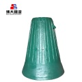 Gyratory Cone Crusher Mantle Concave Crusher Spare Part