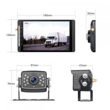 7inch DVR Monitor and Backup Camera Wireless Digital System