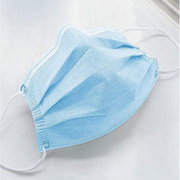 Plane earloop type 3ply face masks
