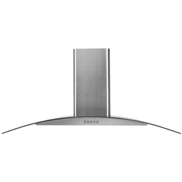 90cm Curved Glass Cooker Hood in UK