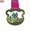 Custom best finisher running award medals