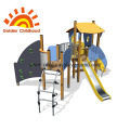 Panel Kids Outdoor Playground Equipment For Sale