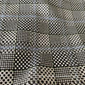 Polyester Viscose Spandex Checks Fabric