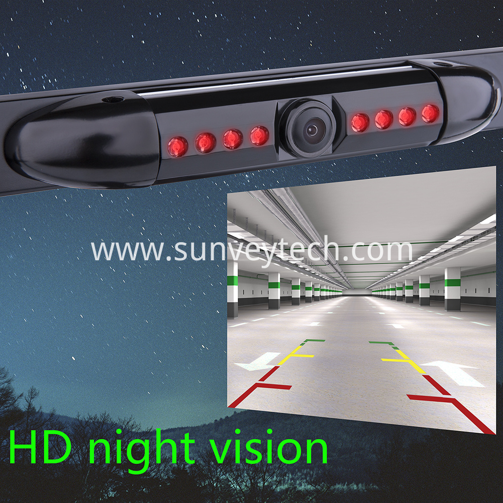 Night Vision License Frame Backup Camera