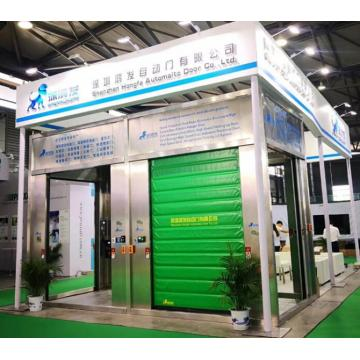 Industrial PVC Curtain Freezing Zipper Cold Room Door