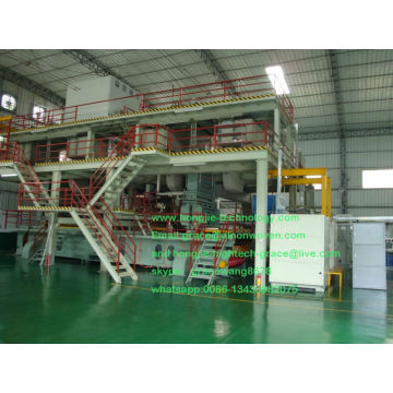 2014 hot nonwoven fabric machine