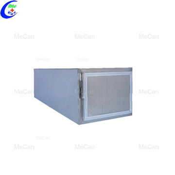 Corpse room refrigerator freezer 6 grid stainless steel cabinet