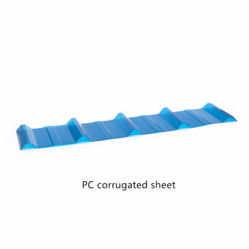 Customized Size Polycarbonate Corrugated Board