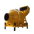 JZC350 small diesel portable cement concrete mixer machine