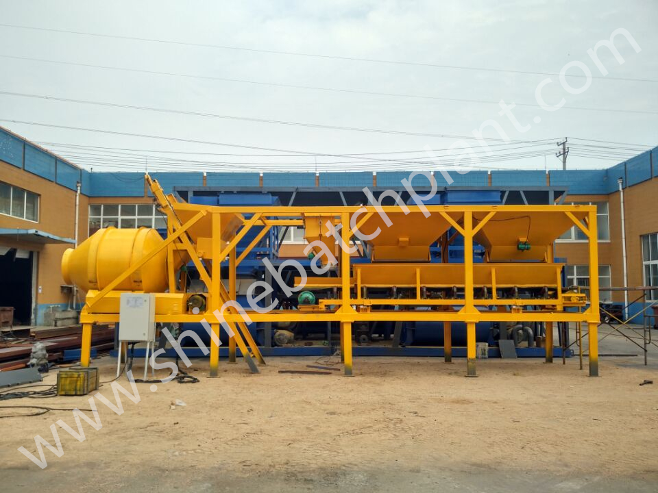 20 Mobile Concrete Batch Plant 01