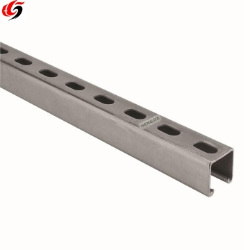 galvanized type unistrut channel slotted channel
