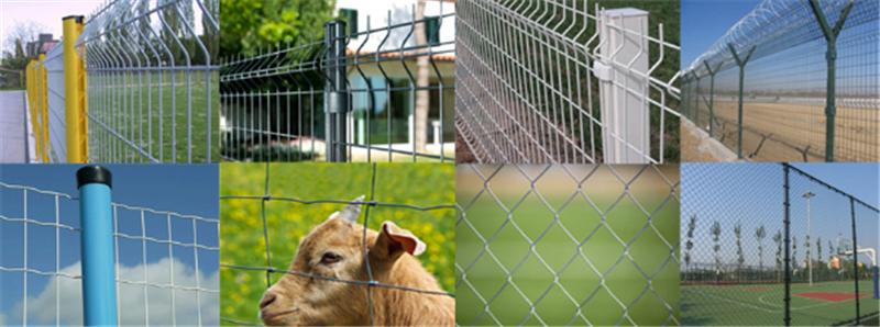 metal mesh fences